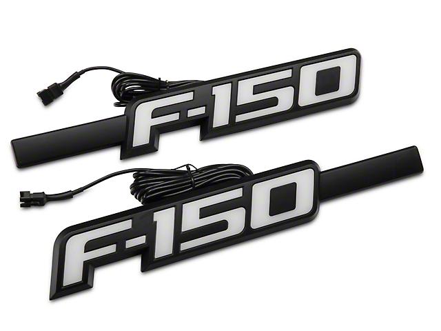 recon 264283whbk ford raptor illuminated emblems svt white 100 Lumi Logos Ford at Illuminated Emblems Ford Wiring Diagram