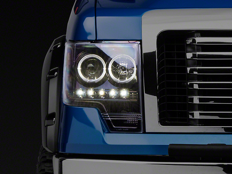 Recon Projector Headlights - Smoked Lens (09-14 w/o Factory Projectors/HIDs)