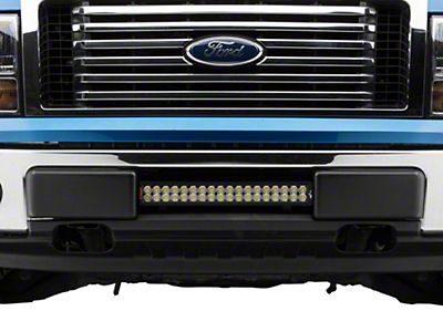 Vision X Bumper Light Bar Mount w/ 21 in. LED Light Bar (09-14 F-150, Excluding Raptor)