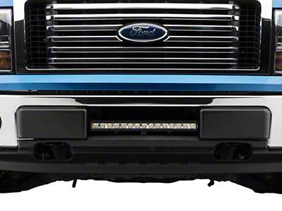 Vision X Bumper Light Bar Mount w/ 20 in. LED Light Bar (09-14 F-150, Excluding Raptor)