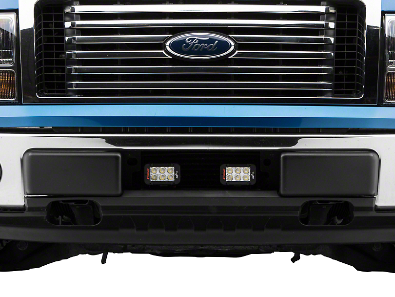 Vision X Bumper Light Bar Mount w/ Two 5 in. LED Light Bars (11-14 3.5L EcoBoost)