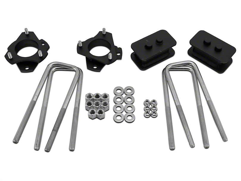 Traxda 2 in. Front / 1 in. Rear Lift Kit (09-18 2WD/4WD F-150, Excluding Raptor)