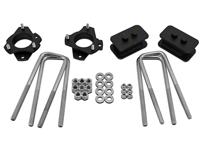 Traxda 2 in. Front / 1 in. Rear Lift Kit (09-17 2WD/4WD, Excluding Raptor)