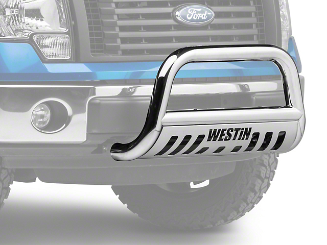 Westin E Series 3 In Bull Bar Polished 09 14 All