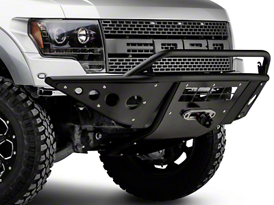 Addictive Desert Designs Stealth Front Bumper w/ Skid Plate Light Bar Mount (10-14 Raptor)