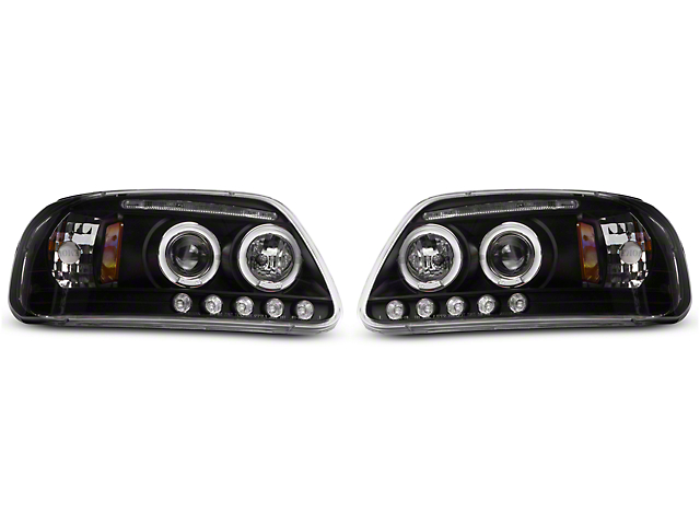 Axial f 150 led dual halo projector headlights t526361 97 03 f 150 axial led dual halo projector headlights 97 03 f 150 freerunsca Images