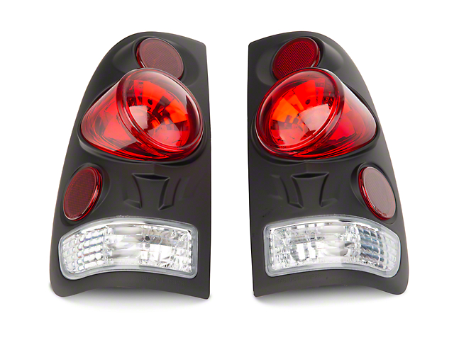 Axial Black Euro Style Tail Lights (97-03 Styleside Regular Cab, SuperCab)