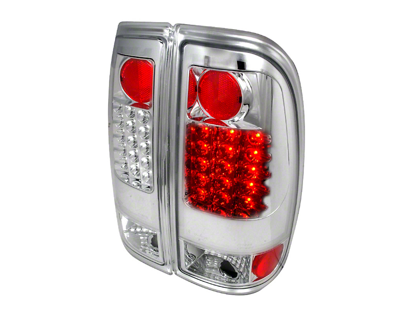 Axial Chrome Alteeza Style LED Tail Lights (97-03 F-150 Styleside Regular Cab, SuperCab)