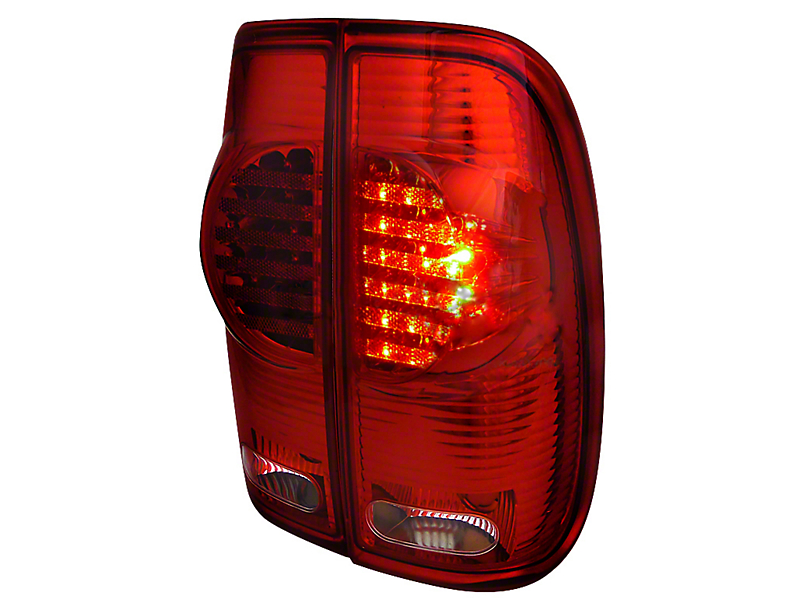 Axial Red LED Tail Lights (97-03 Styleside Regular Cab, SuperCab)