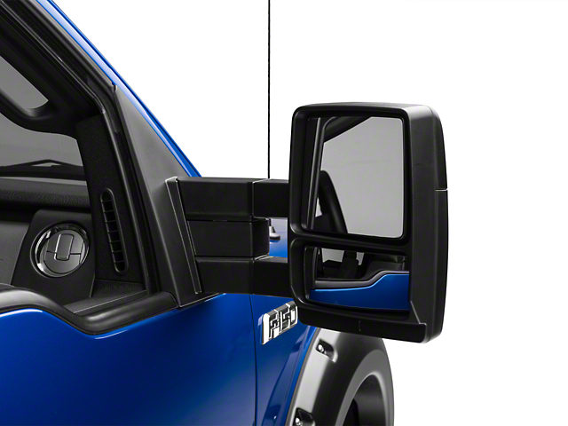 Manual Extending Non Powered Adjustable Towing Mirrors Pair