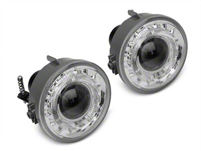 Axial Clear Projector LED Fog Lights (06-08 F-150)