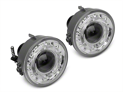 Axial Clear Projector LED Fog Lights (06-08 All)