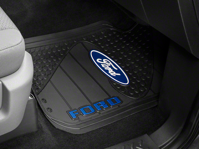 Trushield F 150 Ford Logo Factory Floor Mat T526386 09 15