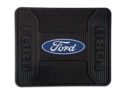 TruShield Ford Logo Elite Rear Utility Floor Mat (97-18 All)