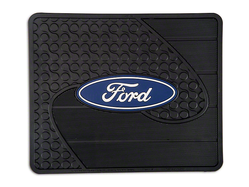TruShield Ford Logo Rear Utility Floor Mat (97-18 All)