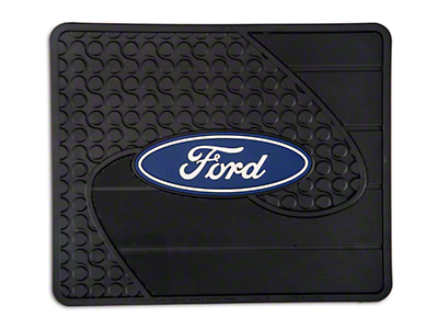TruShield Ford Logo Rear Utility Floor Mat (97-18 F-150)