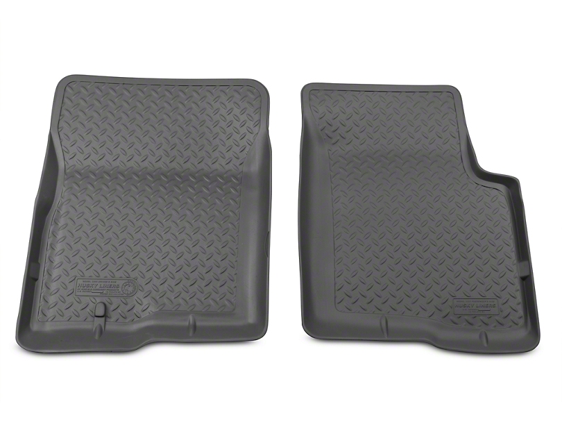 Husky Classic Front Floor Liners - Gray (04-08 All)