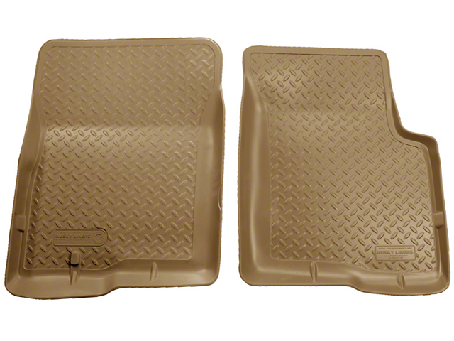 Husky Classic Front Floor Liners - Tan (04-08 All)