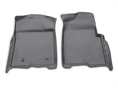Husky Classic Front Floor Liners - Gray (09-14 All)