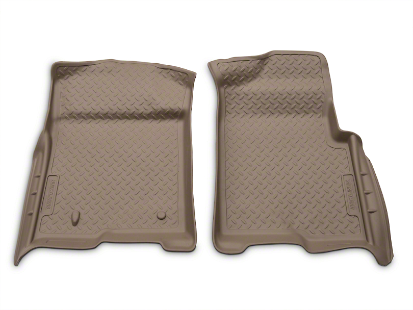 Husky Classic Front Floor Liners - Tan (09-14 All)