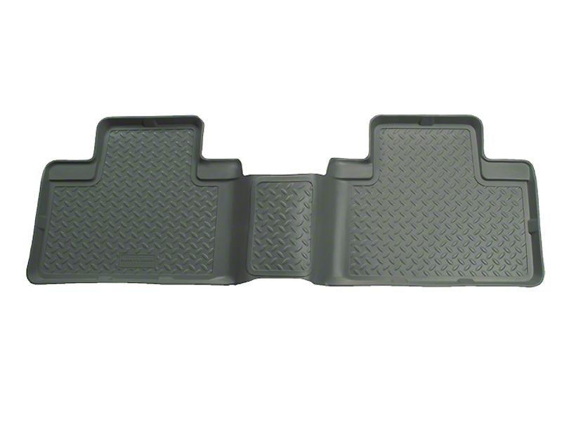 Husky Classic 2nd Seat Floor Liner - Gray (01-03 SuperCrew)
