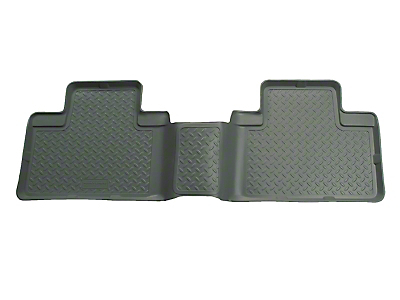Husky Classic 2nd Seat Floor Liner - Gray (01-03 F-150 SuperCrew)
