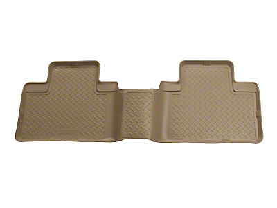 Husky Classic 2nd Seat Floor Liner - Tan (00-03 SuperCab, SuperCrew)