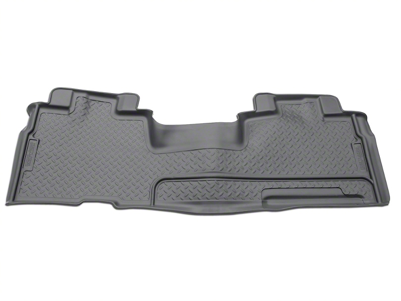 Husky Classic 2nd Seat Floor Liner - Gray (09-14 SuperCab, SuperCrew)