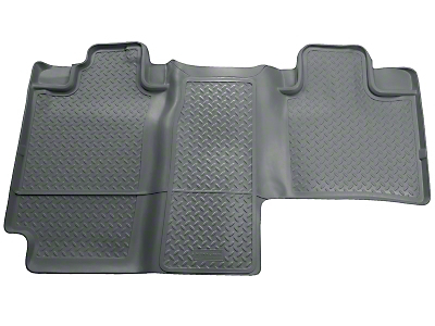 Husky Classic 2nd Seat Floor Liner - Gray (04-08 SuperCab, SuperCrew)