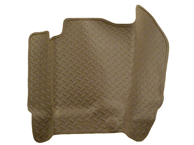 Husky Classic Center Hump Floor Liner - Tan (04-08 SuperCab, SuperCrew)