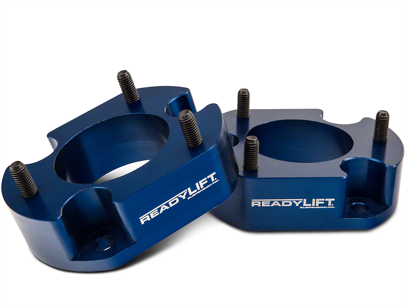 ReadyLIFT 2.5 in. Billet Aluminum Leveling Kit - Anodized Blue (04-08 4WD; 04-14 2WD)