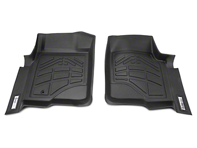 Wade Sure-Fit Front Floor Mats - Black (09-12 w/ 1 Retention Hook)