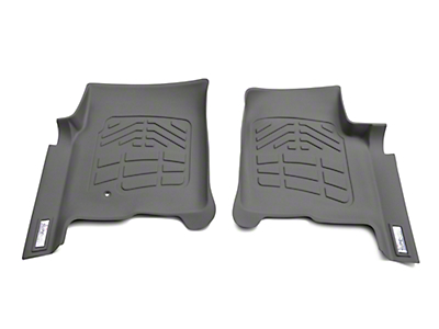 Wade Sure-Fit Front Floor Mats - Gray (04-08 F-150)