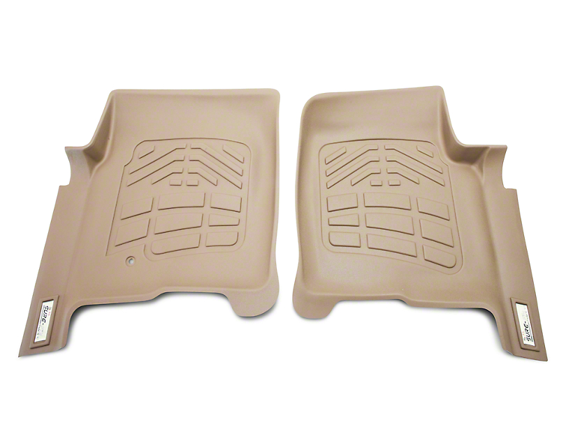 Wade Sure-Fit Front Floor Mats - Tan (04-08 All)