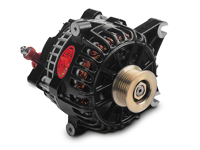 Powermaster Alternator - 200 Amp Black (04-08 4.6L; 04-10 5.4L)