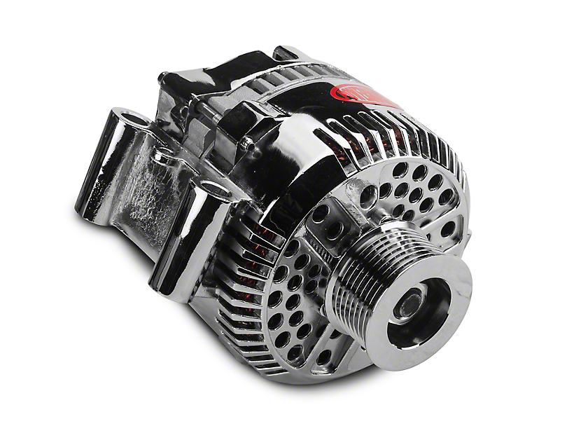 Powermaster Alternator - 200 Amp Chrome (97-03 F-150, Excluding Lightning & 02-03 Harley Davidson)