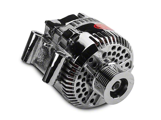 Powermaster Alternator - 200 Amp Chrome (97-03 All, Excluding Lightning & 02-03 Harley Davidson)