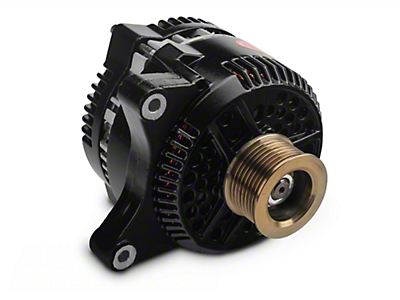 Powermaster Alternator - 200 Amp Black (97-03 F-150, Excluding Lightning & 02-03 Harley Davidson)