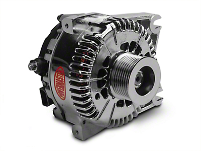 Powermaster Alternator - 200 Amp Chrome (99-03 F-150 Lightning; 02-03 F-150 Harley Davidson)
