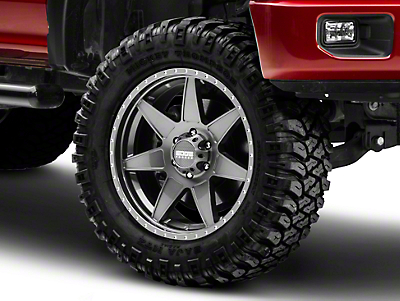 Edge Wheels RF7 Gunmetal 6-Lug Wheel - 20x9 (04-19 F-150)