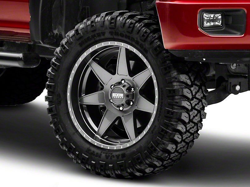 Edge Wheels RF7 Gunmetal 6-Lug Wheel - 20x10 (04-18 All)