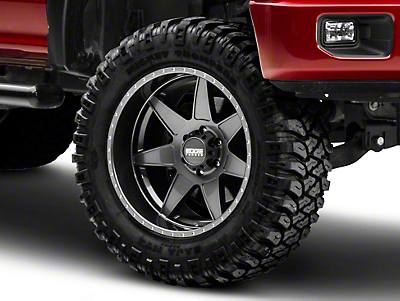 Edge Wheels RF7 Gunmetal 6-Lug Wheel - 20x12 (04-17 All)
