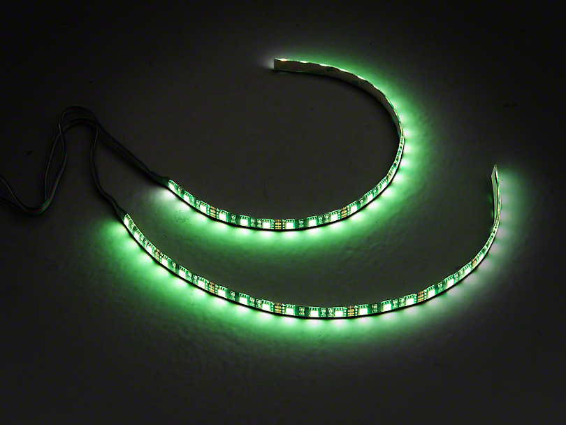 Axial 15 in. LED Strips - Pair - w/ RGB ColorSHIFT Controller (97-19 F-150)