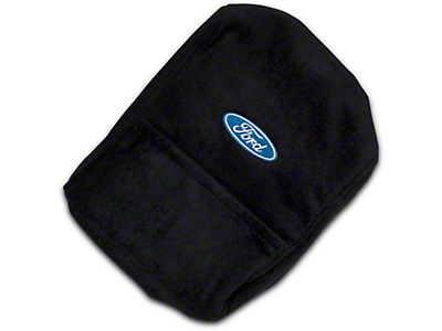SpeedForm Ford Oval Logo Center Console Cover (04-14 F-150 w/ Bucket Seats)