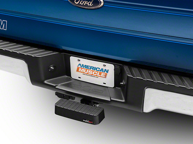 Weathertech Rear Bump Step - Black (97-18 F-150)