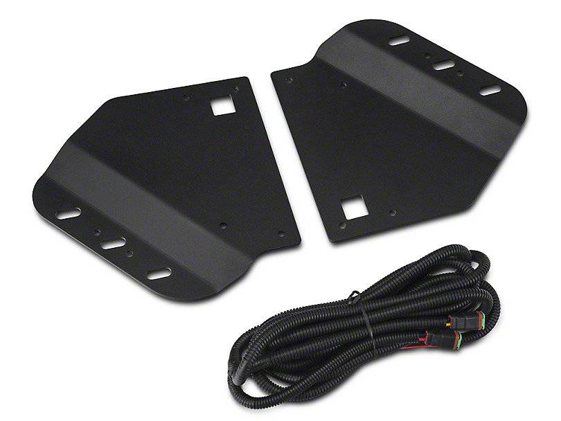 Vision X Fog Light Mounting Kit (10-14 Raptor)