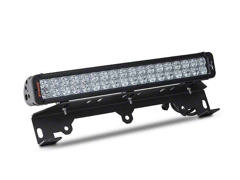 Vision X Bumper Light Bar Mount w/ 20 in. LED Light Bar (10-14 F-150 Raptor)