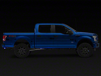 Vision X Tantrum LED Rock Light - Blue (97-18 F-150)