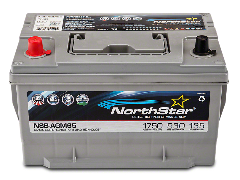 NorthStar Performance Battery (97-18 All)