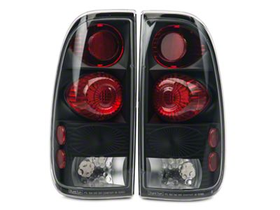 Alteon Black Euro Tail Lights (97-03 F-150 Styleside Regular Cab, SuperCab)